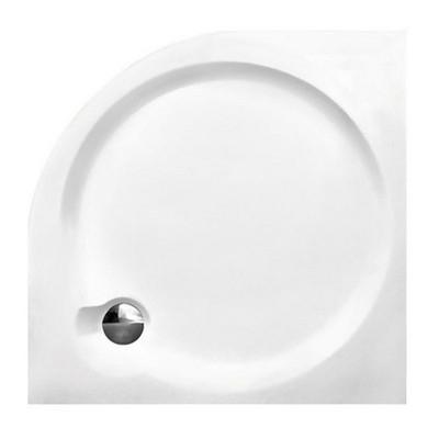 Roltechnik TAHITI-P 800 mm íves zuhanytálca fehér