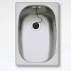Teka E MODELL 1C beépíthető mosogató 280x405 mm rozsdamentes acél