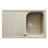 Teka ALBA 40B gránit mosogató beépíthető homokbézs 790 x 500 mm-es