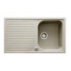 Teka ALBA 45B gránit mosogató beépíthető homokbézs 860 x 500 mm-es