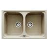 Teka ALBA 90B gránit mosogató topáz bézs 860 x 500 mm-es