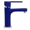 Teka Aura mosdó csaptelep automata leeresztővel kék