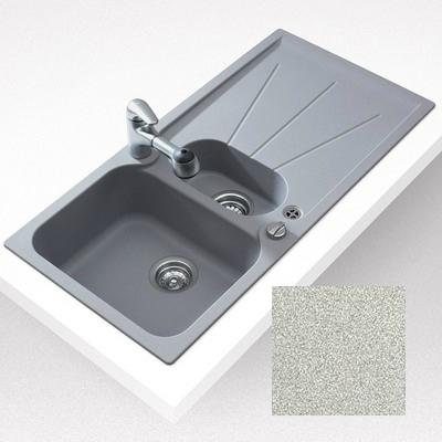 Teka CARA 60B gránit mosogató beépíthető homokbézs 1000x500 mm