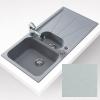 Teka CARA 60B gránit mosogató metál szürke 1000x500 mm
