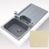 Teka CARA 60B gránit mosogató topázbézs 1000 x 500 mm