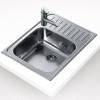 Teka Classic 1C 1/2 E beépíthető mosogató 650x500 mm rozsdamentes acél