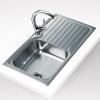 Teka Classic 1C 1E beépíthető mosogató860x500 mm rozsdamentes acél
