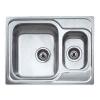 Teka Classic 1 1/2C beépíthető mosogató 340x400 mm-es rozsdamentes acél