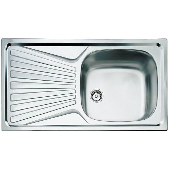 Teka DEVA 45 beépíthető mosogató rozsdamentes acél