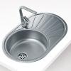 Teka DR77 1B 1D beépíthető mosogató 770x500 mm rozsdamentes acél