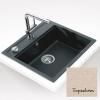 Teka MENORCA 60S gránit mosogató topázbézs 570 x 510 mm