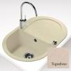 Teka PERLA 45 B gránit mosogató topáz bézs 790 x 500 mm