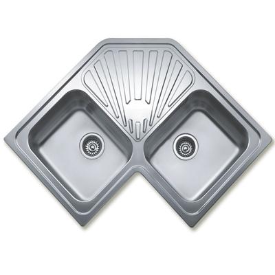 Teka angular 2c rozsdamentes mosogat be p thet sarok t for Pozas para cocina