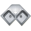 Teka ANGULAR 2C rozsdamentes mosogató beépíthető sarok