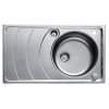 Teka ZENO 45B beépíthető mosogató rozsdamentes acél mikrotexturás