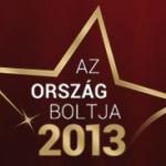 Versenyben- Szaniteráruház az Ország Boltja 2013 szavazáson