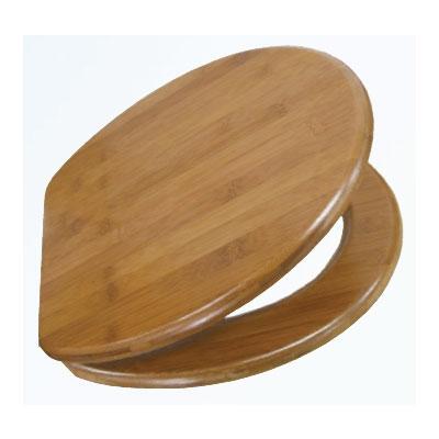 WC ülőke fa bambusz
