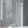 Wellis Apollo 80 szögletes zuhanykabin alumínium profil átlátszó üveg WC00423
