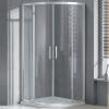 Wellis Aquarius 80 íves zuhanykabin alumínium profil átlátszó üveg WC00320