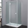 Wellis Clyde 120x90 szögletes zuhanykabin alumínium profil átlátszó üveg WC00339