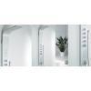 Wellis Mariner Silver termosztátos zuhanypanel matt króm WZ00086