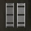 Zehnder törölközőszárítós radiátor egyenes fehér 1500x450